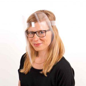 Professioneller Gesichtsschutz von Augen, Mund & Nase - für Brillenträger und Make-up geeignet