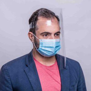Face Protection mit zusätzlichem Mundschutz