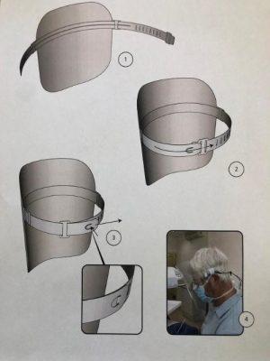 Gesichtsschutz Anleitung